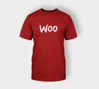 T-shirt Woo Logo Red